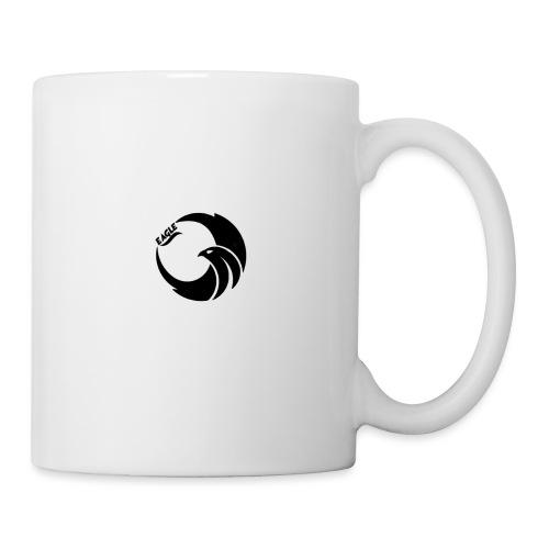 eagle noir - Mug blanc