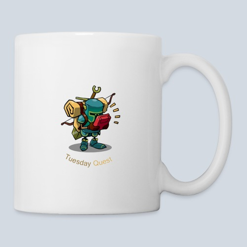 Tuesday Quest Logo - Mug blanc