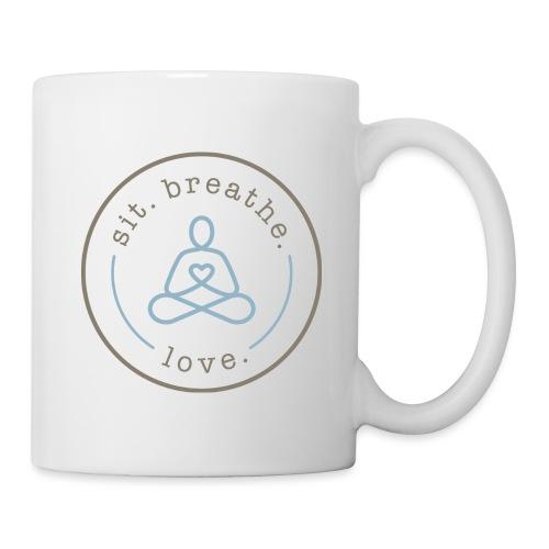 SBL_logo_grey(light)+blue - Mug