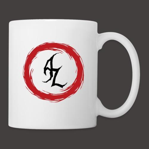 Logo Officiel Azaros Noir - Mug blanc