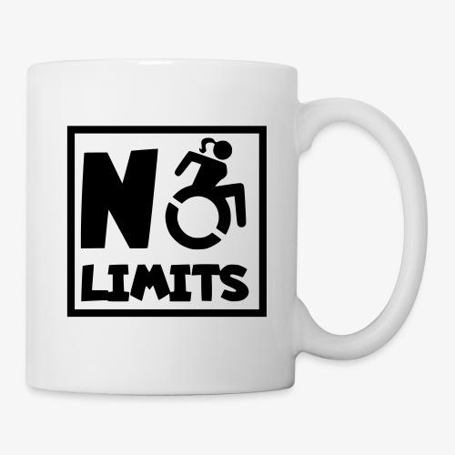 Geen grenzen voor deze dame in rolstoel - Mok