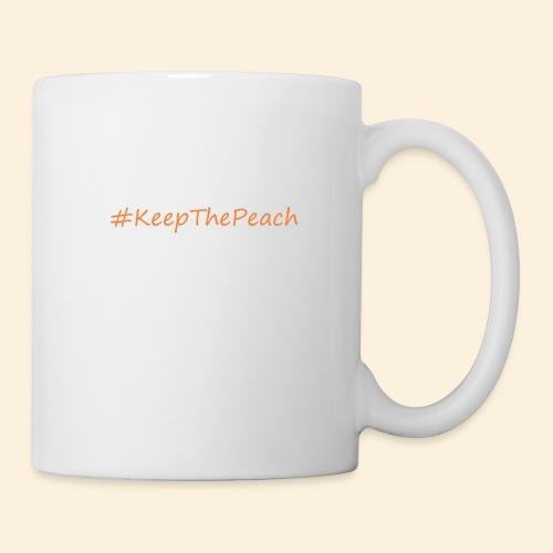 Hashtag KeepThePeach - Mug blanc