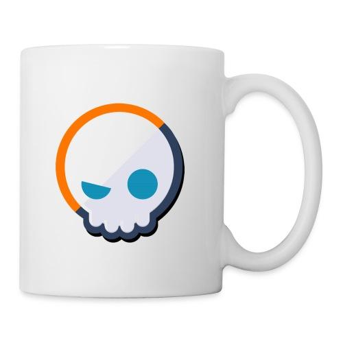 6961 2Clockstin head logo - Mug