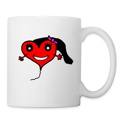 Herz Smiley Geburtstag - Tasse