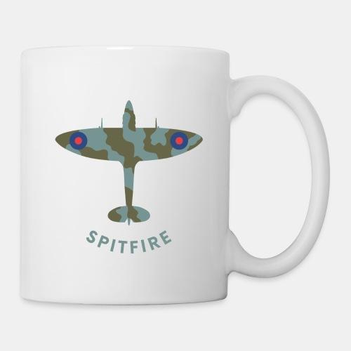 Spitfire fighter plane - Mug
