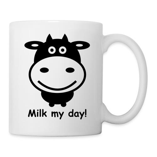 Kuh 1f.Milk my day - Tasse