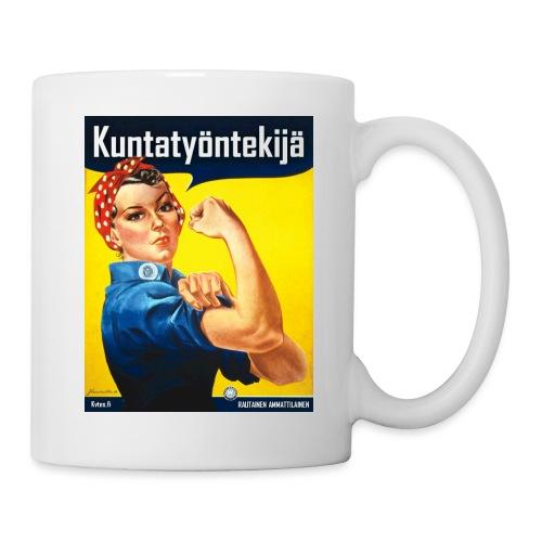 Kuntatyöntekijä - Naisten t-paita - Muki