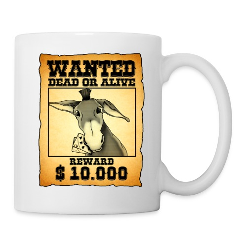 Wanted Cup - Tazza
