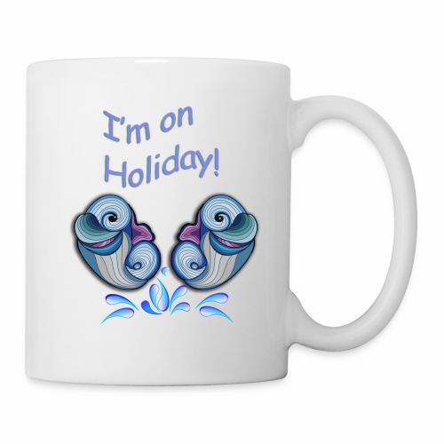 I'm on holliday - Mug