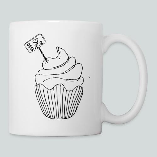 Cupcake i Love Ny - Mug blanc