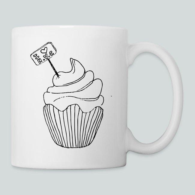 Cupcake i Love Ny