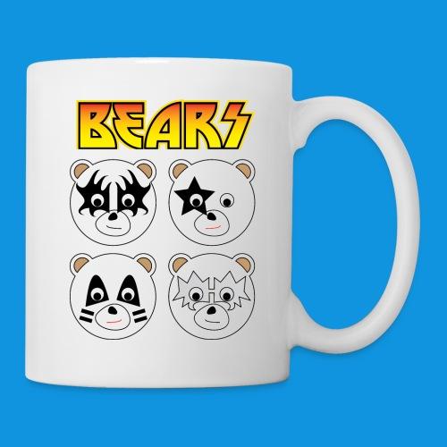 Kiss Bears square.png - Mug