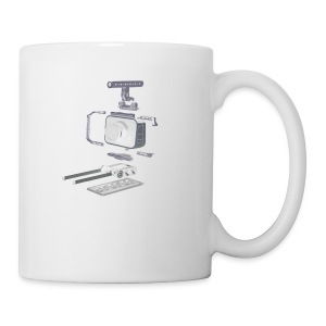 VivoDigitale t-shirt - Blackmagic - Tazza