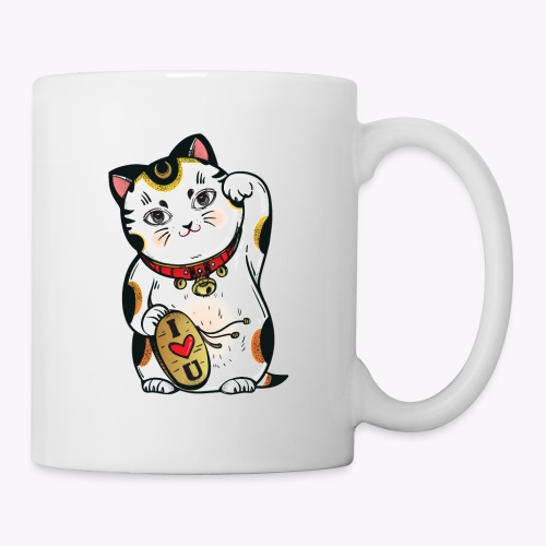 Love Lucky Cat - Mug