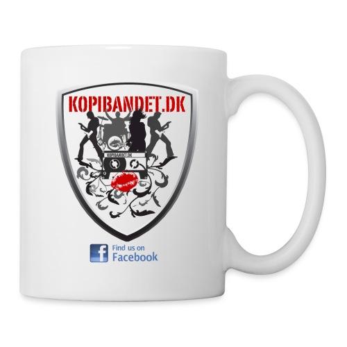 KopiBandet.DK find us on facebook - Kop/krus