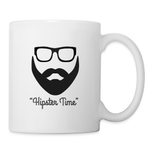 Hipster time - Taza