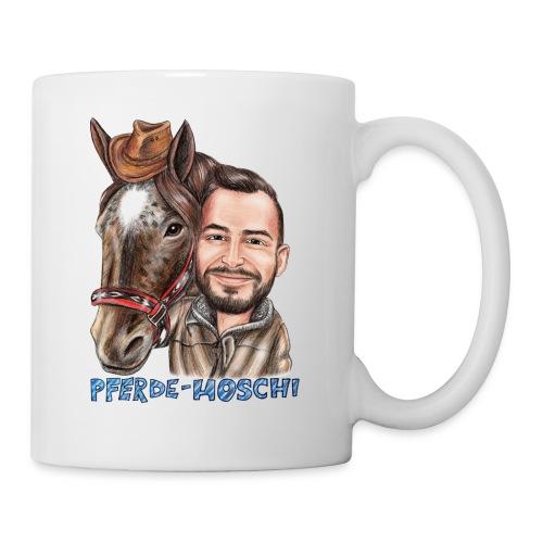 Pferde-Hoschi Kollektion hinten - Tasse