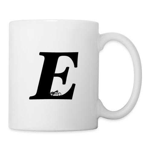 E alphabet - Mug