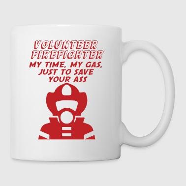 Cuerpo de bomberos: Los bomberos - se trata de culo-que revienta - Taza
