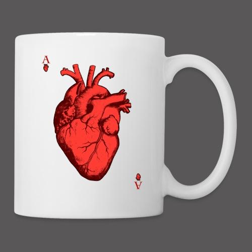 Herz Ass - Tasse
