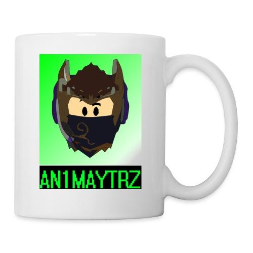 AN1MAYTRZ logo + title - Mug