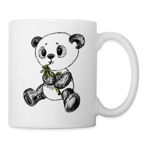 Panda bjørn farvet scribblesirii - Kop/krus