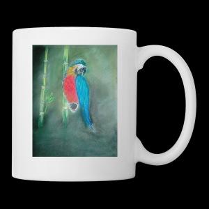Perroquet des iles - Mug blanc