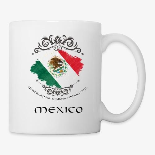 Mexico Vintage Bandera - Tasse
