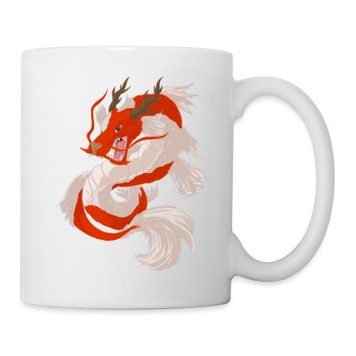Dragon koi - Tazza