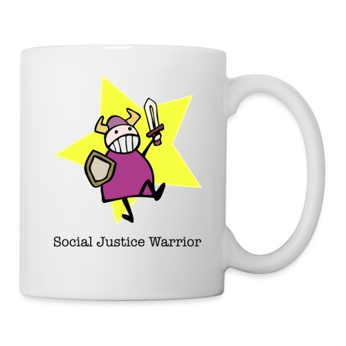 Nörttityttö Social Justice Warrior - Muki