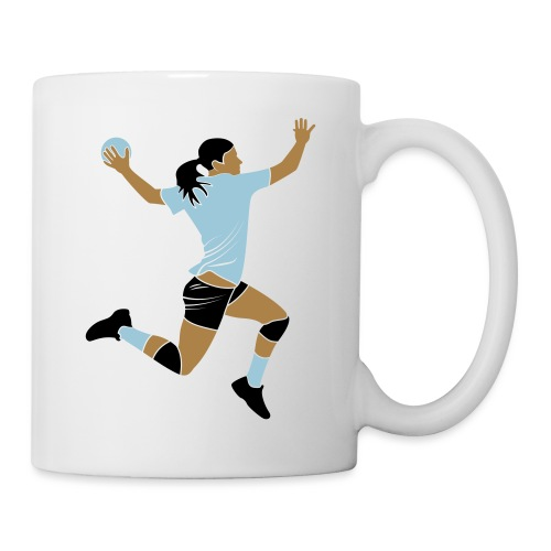 handballeuse - Mug blanc