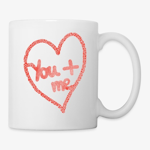 You and me - Mug blanc