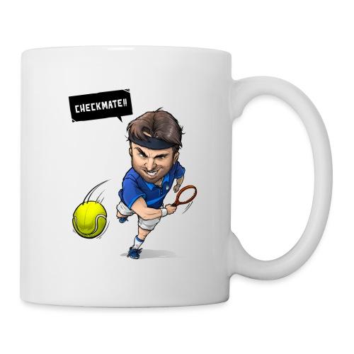 Alasdair checkmate logo - Mug