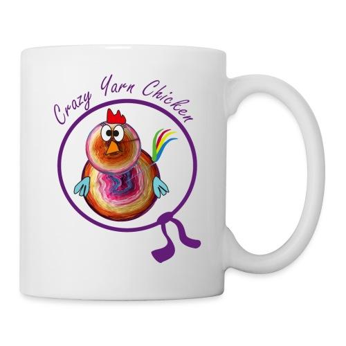 Crazy Yarn Chicken 2 - Tasse