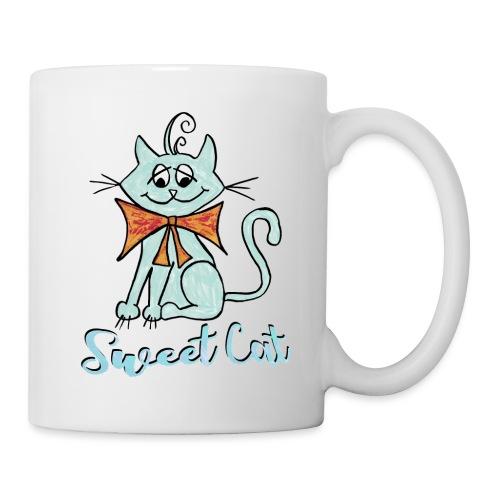 Katze blau Sweet - Tasse