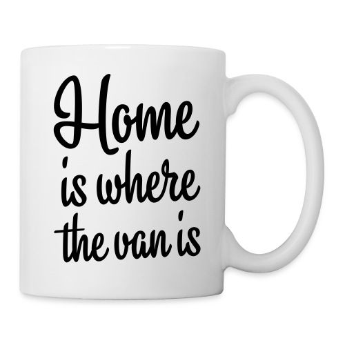 Home is where the van is - Autonaut.com - Mug