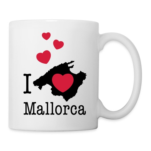 love Mallorca Balearen Spanien Ferieninsel Urlaub - Mug