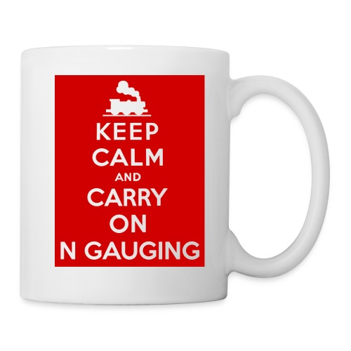 Keep Calm And Carry On N Gauging - Mug