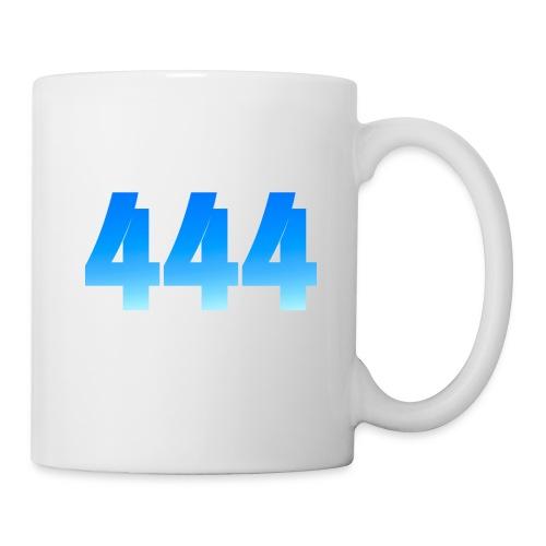 444 annonce que des Anges vous entourent. - Mug blanc
