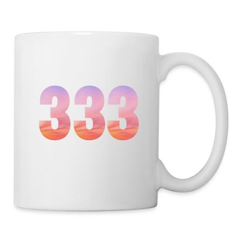 333 vous étes entouré de maitres ascensionnés - Mug blanc
