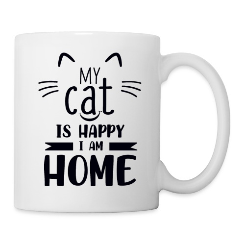 Tasse My cat is happy... - Tasse