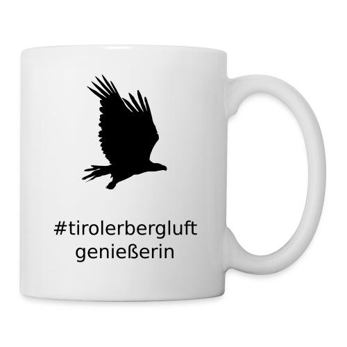 #tirolerbergluft genießerin - Tasse