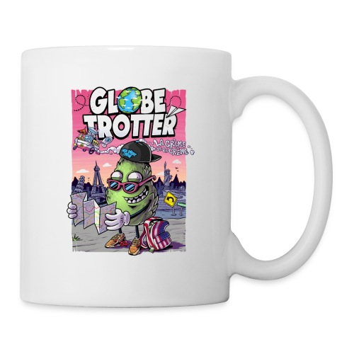 Globe Trotter - accessoires - Mug blanc