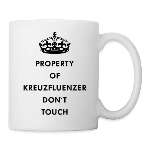 Kreuzfluenzer Don´t Touch Black - Tasse