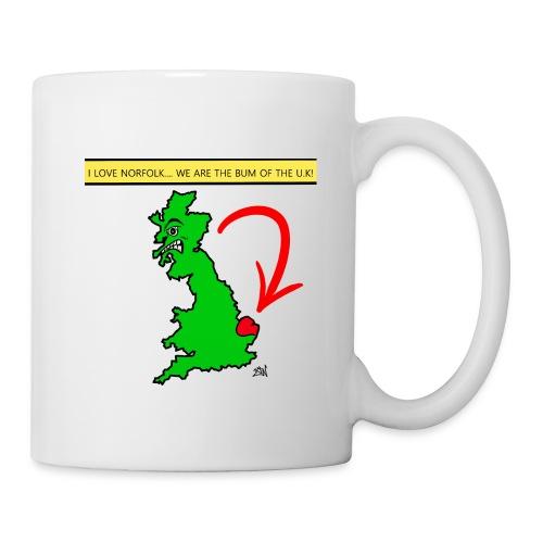 I Love Norfolk - Mug