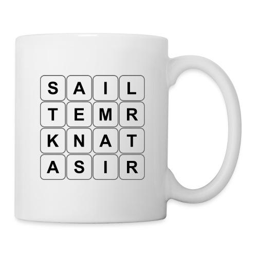 Grille 530 mots - Lettres verticales - Mug blanc