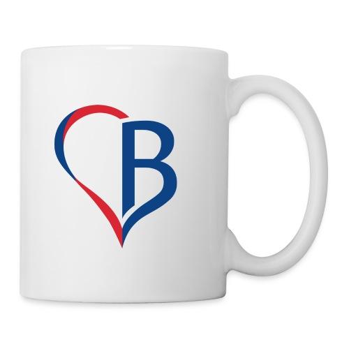 Logo Blau/Rot - Tasse
