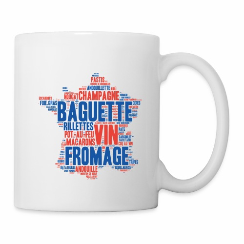 France 2 couleurs - Mug blanc