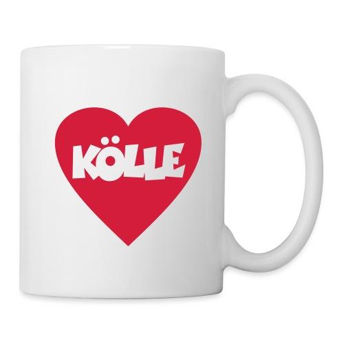 I Love Kölle - Ein Herz für Köln - Tasse