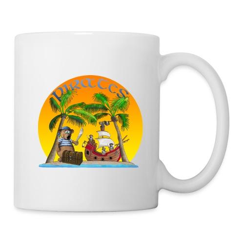 Piraten - Schatz - Tasse